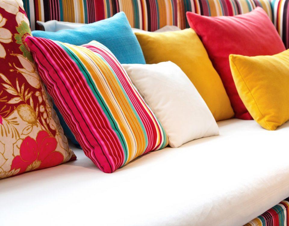 пошив подушек на диван