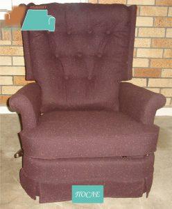 ремонт перетяжка кресла