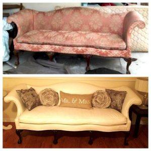 реставрация дивана киев