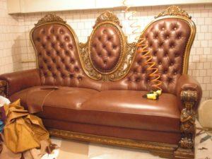 реставрация дивана своими руками