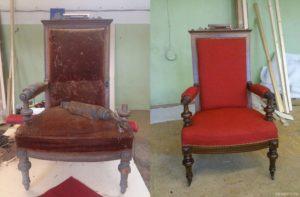 ремонт кресел и стульев Киев