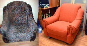 обивка мебели на дому Киев
