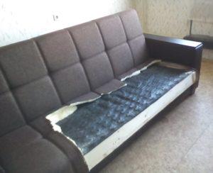ремонт дивана на дому Киев