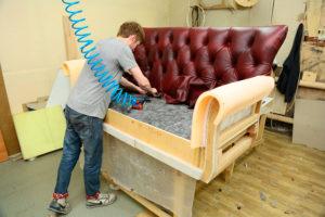 ремонт кожаной мебели на дому Киев