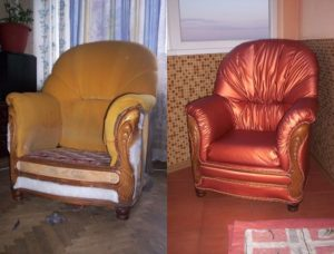 обивка и ремонт мебели Киев на дому