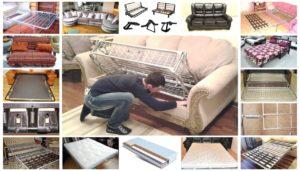 ремонт диванов на дому Киев