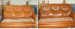 обивка и перетяжка мебели на дому