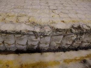ремонт пружинного матраса